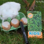 In preparation for Easter I thought it would be a lovely idea to make some egg cress heads. Cress Heads, Egg And Cress, Mud Kitchen, Outdoor Play, Link, Party, Ideas, Outdoor Games, Parties