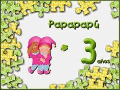 Actividades proyecto Papapapú 3 años