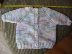free knitting patterns for new born baby cardigan - Google Search