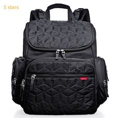 (Rating: 5 stars) Bebamour Nappy Changing Bag Backpack Nylon Waterproof Nappy Backpack with Changing Mat This is a top pick of a deal among the best selling products in Baby category. Click below to see its Availability and Price in your country. Cheap Diaper Bags, Baby Nappy Bags, Nappy Changing Bags, Best Diaper Bag, Changing Mat, Mothers Bag, Diaper Bag Backpack, Large Bags, New Baby Products