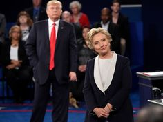 Join us live as Donald Trump and Hillary Clinton battle it out again in the second 2016 presidential debate. - New Zealand Herald