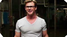 "Chris Hemsworth is ""Sexy Kevin"" - GHOSTBUSTERS (2016)                                                                                                                                                      More"