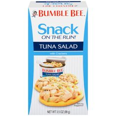 Bumble Bee Tuna and Seafood Products - BUMBLE BEE® Snack on the Run! Tuna Salad with Crackers Kit