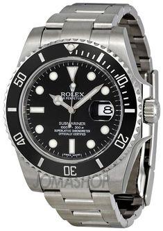 Rolex Submariner Black Dial Ceramic Bezel Steel Mens Watch 116610LN - gold mens watches, expensive mens watches, mens all black watches