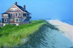 My Hampton beach house Nantucket, Beautiful Buildings, Beautiful Homes, Beautiful Beach, Beautiful Family, Die Hamptons, Cap Ferret, Dream Beach Houses, Vacation