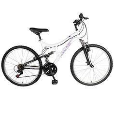 Mantis Orchid Full Suspension Mountain Bike, 26 inch Wheels, 17 inch Frame, Women's Bike, Pearl/Purple - http://mountain-bike-review.net/products-recommended-accessories/mantis-orchid-full-suspension-mountain-bike-26-inch-wheels-17-inch-frame-womens-bike-pearlpurple/ #mountainbike #mountain biking