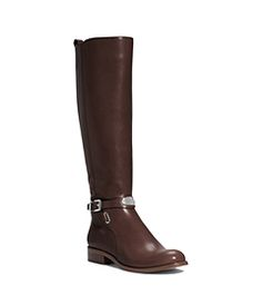 Arley Vachetta Leather Riding Boot, Extended Calf Width