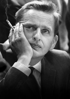 Olof Palme(30 january 1927-28 februrary 1986), was the leader of the Swedish Social Democratic Party 1969- 28th of februrary 1986, which was the day he was assassinated by an unknown culprit and his wife Lisbet Palme was also shot at, but she survived the attack.