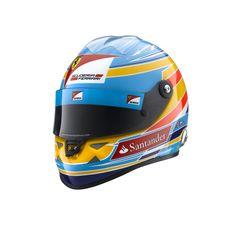 Reproduction du casque de Fernando Alonso F1 2012 (1:1) - Ferrari Store