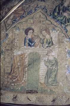 Index of Christian Art - Opus Anglicanum: - Pienza: Museum, Museo Diocesano