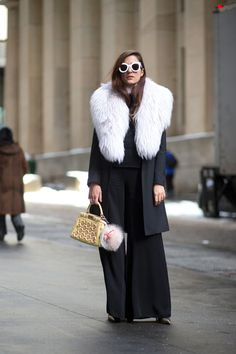 Take note from ladies who have braved the chill for styling tips and tricks to master the layering game.