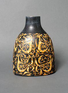 Royal Copenhagen nils thorsson baca fajance vase