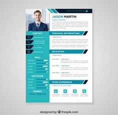 Free flat resume template with professional design for you next job hunting. Available in EPS file format, this free resume template is professionally organized and labelled so every beginner can. Free Cv Template Word, Best Free Resume Templates, Creative Cv Template, Cv Resume Template, Resume Design Template, Resume Format, File Format, Download Cv Format, Resume Cv