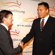 Sports: Michael J. Fox: Cure Parkinsons Disease to Honor Muhammad Ali