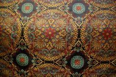 Needlework Jacquard Fabric  Pinch Pleat Draperies by ShopMyFabrics