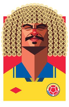 VALDERRAMA - Playmakers - Daniel Nyari Graphic Design & Illustration