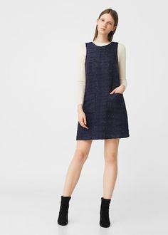 Tweed dress | MANGO £36