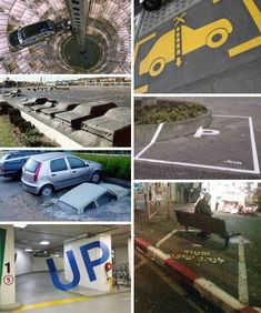 The number of cars keeps growing. Something's gotta give – as seen in these sometimes surprising and eminently enterprising parking solutions.