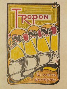 Henry van de Velde - Plakat: Tropon