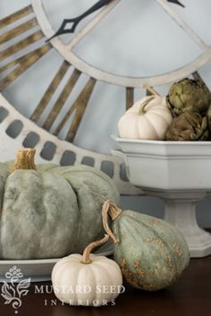 Fall Decorating with Miss Mustard Seed