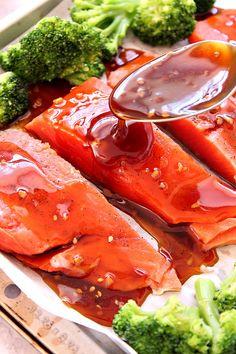 baked teriyaki salmon 4 Homemade Teriyaki Sauce Recipe