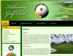 Kilkenny Golf Club - web development - Brand You Design Development, Brand You, Dublin, Golf Clubs, Competition, Ireland, Web Design, 1, Creative