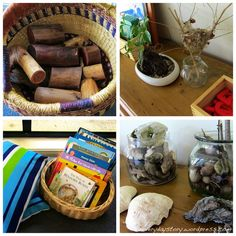 Inspired by Reggio and Montessori? Here's inspiration on how to set up the environment