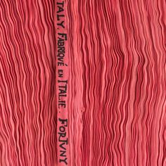 Silk Pleats // Only Fortuny  #Fabric #Art #Designer #Fortuny