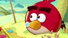Fazer Angry Birds -ksylitolipurukumit ja tikkarit TV-mainos 2012
