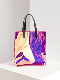Turn Heads With This Memorizing Iridescent Tote Bag