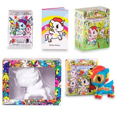 Unicorno by Tokidoki - Pop Unicorn Vinyl Figurines, Blind Boxes & Accessories #Tokidoki