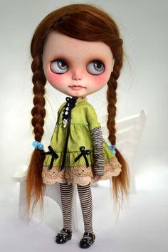 DRESS vintage Style for Blythe by Miema Dollhouse