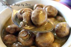 *Riches to Rags* by Dori: Crockpot Parmesan Ranch Mushrooms