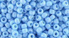 TR-08-403 Round 8/0 : Opaque-Rainbow Blue Turquoise