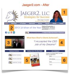 Jaeger2.com -- Shari Jaeger Goodwin is a nationally-recognized business strategist and leadership coach.  Her unique approach to leadership training has clients interact with the horses at her Marshall, Virginia farm to develop and sharpen their emotional intelligence and leadership skills.