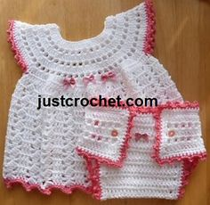Ravelry: Baby crochet pattern JC158B pattern by Justcrochet Designs