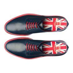 Brit shoes Design with Union Jack