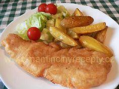 Polish Recipes, Meat Recipes, Polish Food, Fish And Meat, Baked Potato, Potatoes, Mexican, Chicken, Baking