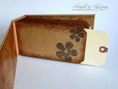 *ClayGuana: Vintage Suitcase - mini album she made to go inside the suitcase. Love it all!