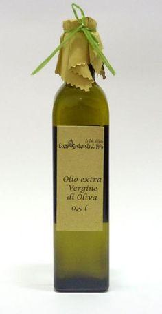 Olio extra vergine di oliva: Olio di oliva di categoria superiore ottenuto dalle olive e unicamente mediante procedimenti meccanici. Euro 10,00