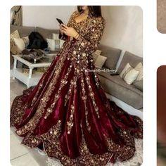 Caftan - Caftan Source by - Indian Bridal Outfits, Pakistani Wedding Dresses, Pakistani Dress Design, Red Wedding Gowns, Asian Wedding Dress, Morrocan Wedding Dress, Wedding Outfits, Sari, Afghan Dresses