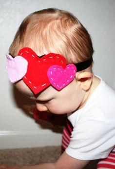 Three Heart Headband by RhinestonesandTutus on Etsy, $10.00