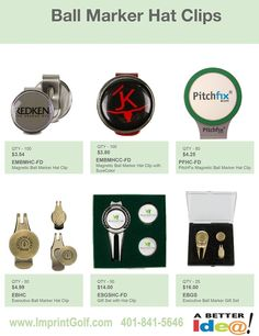 Custom Golf Outing Ball Markers & Hat Clips on Sale! Personalized Golf Products at bargain prices. Golf Tournament Giveaway Prizes & Logo branded Gifts. www.imprintgolf.com 401-841-5646 #golftournament #golfoutings #golfgifts #golfonsale #golfspecials #newfor2017 #newgolfideas #golf #golfprizes #planningagolftournament #ballmarkers #hatclips