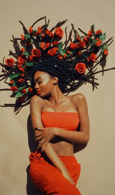 Natural hair Rules! - angel-jai:   B L O O M   model: me  photographer:...