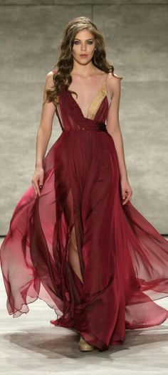 Leanne Marshall Runway Mercedes Benz Fashion Week Fall 2015
