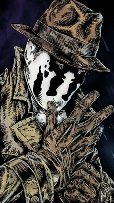 PF 1 - 3819 - 4 DPA - IDE - 737 Rorschach Rosharch this fucker is awful but hes such a badass and i… Watchmen - Ozymandias por Jim Lee - Dicas e Mais Arte Dc Comics, Dc Comics Art, Comic Book Characters, Comic Character, Comic Books Art, Comic Art, Univers Dc, Mundo Comic, Comics Universe