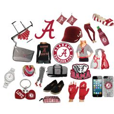 """Roll Tide Roll"" by fanatics on Polyvore"