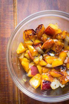 peach relish for brown sugar pork chops