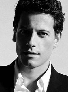 I do have a Ioan Gruffud fixation, but he's just a really good actor and beautiful...like a piece of art.