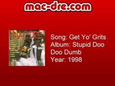"Jessie Spencer's Music Blog: Mac Dre - ""Get Yo' Grits"""
